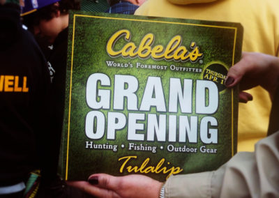 Cabelas Grand Opening Tulalip