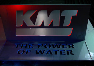 KMT Waterjet Promotional Video Featuring High-Tech Water Cutting Technology