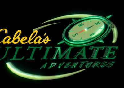 Cabelas Ultimate Adventures Logo Spin
